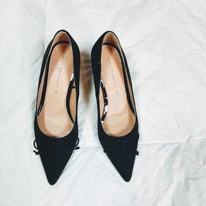 Zara Trafaluc Black Heels